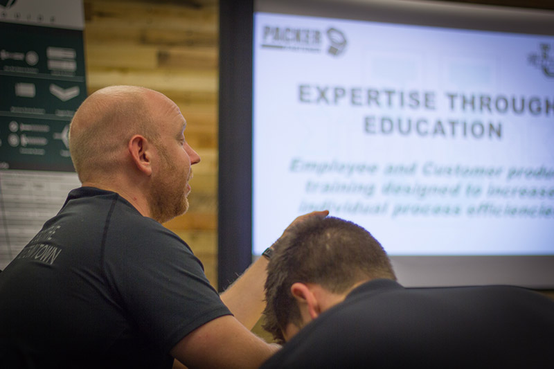 Packer Fastener training classroom